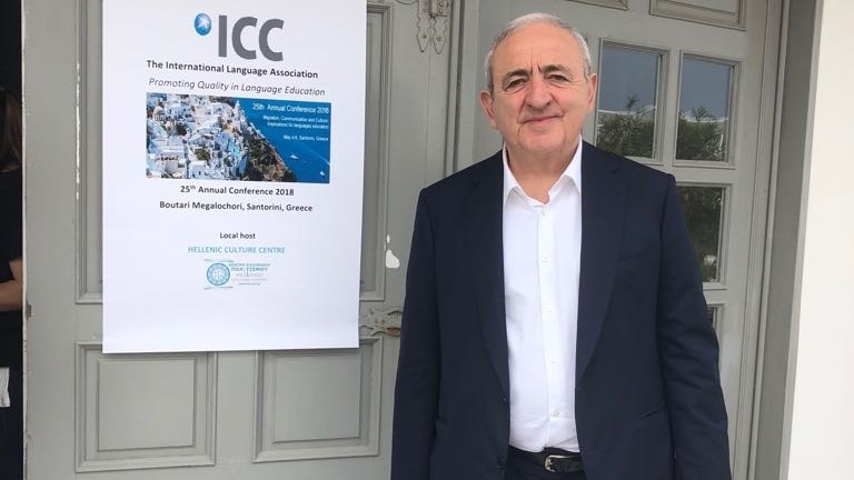 Participation of Mr. Asaf Hajiyev, PABSEC Secretary General in the 25th International Language Association Annual Conference, Santorini, Greece, 4-6 May 2018