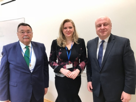 Participation of Mrs. Roberta Alma Anastase, PABSEC Vice-President and Head of the PABSEC Romanian Delegation, in the 17th Winter Meeting of the OSCE Parliamentary Assembly (OSCE PA), Vienna, 22-23 February 2018