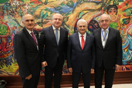 Participation of the PABSEC Delegation in the Ceremony marking the 100th Anniversary of the Parliament of the Republic of Azerbaijan