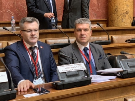 The PABSEC Delegation participated in the 13th Plenary Session of the Parliamentary Assembly of the Mediterranean, Belgrade, Serbia, 21-22 February 2019