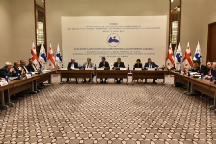 52nd Meeting of the PABSEC Economic, Commercial, Technological and Environmental Affairs Committee, Batumi, 15-16 May 2019