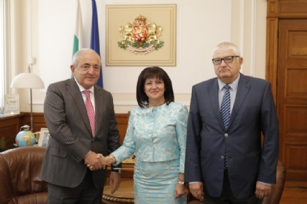 Working visit of Mr. Asaf Hajiyev, the PABSEC Secretary General to the National Assembly of the Republic of Bulgaria, Sofia, 3 September 2019