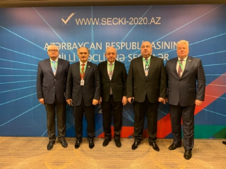 Participation of the PABSEC Delegation in the monitoring of the Early Parliamentary Elections in the Republic of Azerbaijan, Baku, 8-10 February 2020