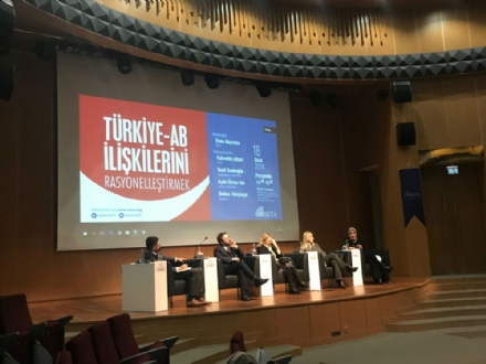 "Participation of Mr. Miltiadis Makrygiannis, PABSEC Deputy Secretary General, in the debate ""Rationalizing Turkey-EU Relations"", Istanbul, 18 January 2018"