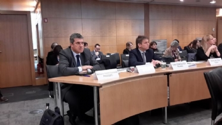 Participation of Mr. Miltiadis Makrygiannis, the PABSEC Deputy Secretary General, in the 4th OECD Parliamentary Days Meeting, Paris, 3 – 5 February 2016