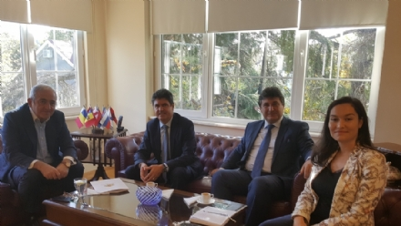 Visit of Mr. Angel Angelov, Consul General of the Republic of Bulgaria in Istanbul, to the PABSEC International Secretariat Istanbul, 31 October 2017