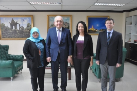 Visit of PABSEC Secretary General Mr. Asaf Hajiyev to Jakarta, Indonesia, 1-4 February 2016