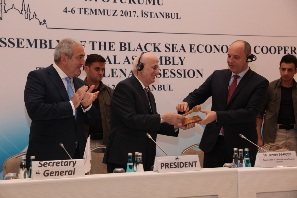 THE CLOSING CEREMONY OF THE FORTY-NINTH PLENARY SESSION OF THE PABSEC GENERAL ASSEMBLY, ISTANBUL, 6 JULY 2017