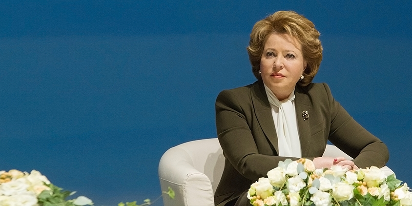 H.E. Mrs. Valentina Ivanovna MATVIENKO, Chairperson of the Council of the Federation of the Federal Assembly of the Russian Federation
