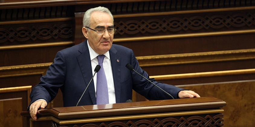 H.E Mr. Galust SAHAKYAN, President of the National Assembly of the Republic of Armenia